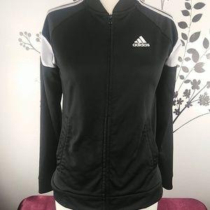 Adidas youth jacket size 10/12 Medium.